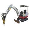 Excavator - rock breaker