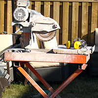 Cutting Sawing Paver Tile Saw