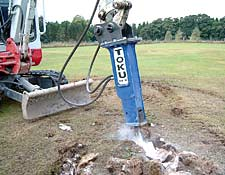 Excavation Earthmoving Rock Breaker
