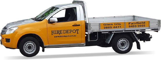 Hiredepot: Equipment hire servicing all of Melbourne